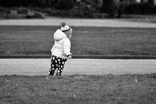 Child, Toddler, Tiny Tot, Kid, Kiddy, Walking, Park