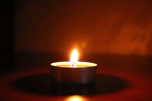 Candle, House, Light, Design, Lighting, Flowers