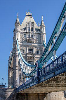 London, Tower Bridge, Bridge, Landmark, England