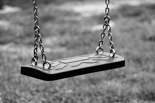 Empty Swing, Depopulation, Migration, Park