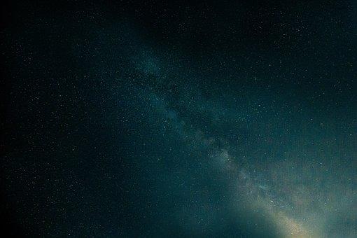 Milky Way, Night Sky, Starry Sky, Star, Space, Universe