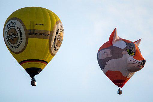 Hot Air Balloon, Montgolfiade, Mass Start