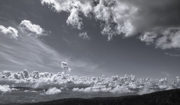 Clouds, Sky, View, Belchenflue, Landscape, Mood