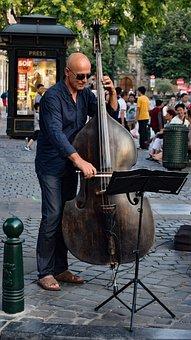 Musician, Street Artist, Music, Instrument, Violoncello