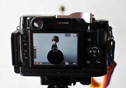 Camera, Digital, Photo, Lcd, Screen, Image, Fujifilm
