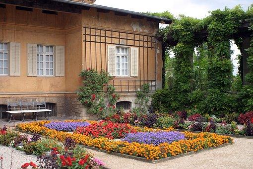 Sanssouci, Roman Bath, Potsdam, Monument