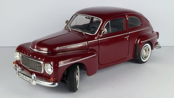 Volvo, Pv 544, Sedan, 1958, Pv544, 544, 1x18, Model Car