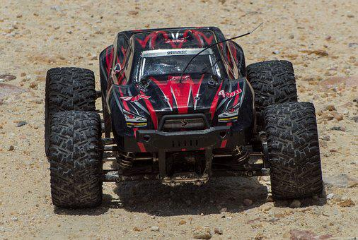 Rc, Front, View, Electric, Remote Controlled, Vehicle