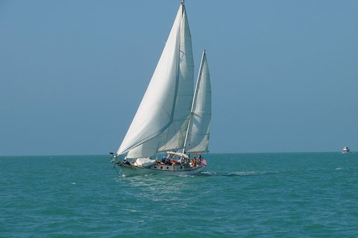 Sailboat, Cutter, Jefferson, Dry Tortugas