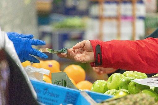 Market, Sale, Money, Sold, Transaction, Food, Fruits