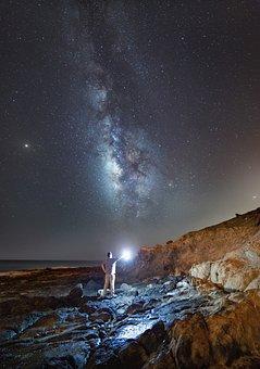 Milky Way, Star, Night, Starry Sky, Sky, Universe