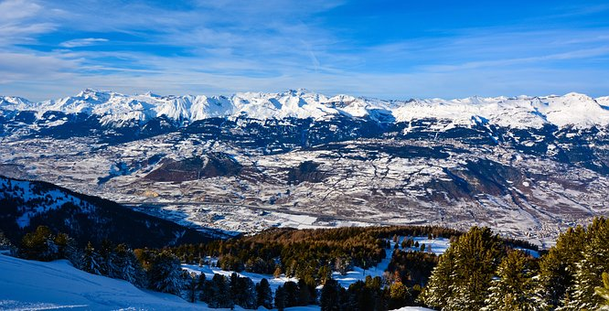 Winter, Mountain, Snow, Nature, Cold, Mountains, Snowy