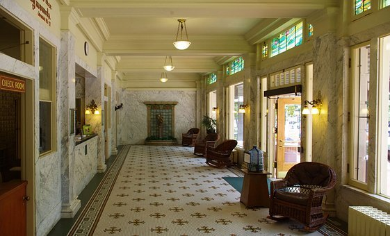Fordyce Bathhouse Lobby, Hot, Springs, National Park