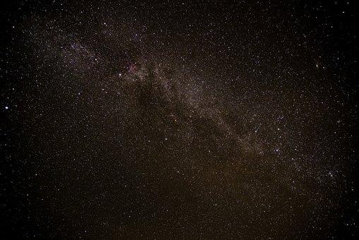 Star, Milky Way, Night, Starry Sky, Sky, Universe
