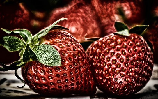 Strawberries, Fruit, Delicious, Red, Food, Sweet, Fresh