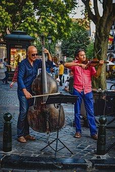 Musicians, Street Artists, Music, Instrument