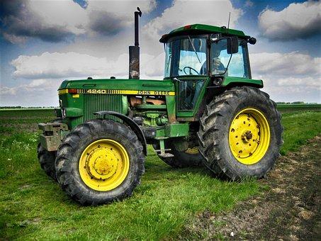 John Deere, John Deere 4240, Tractors, Tractor