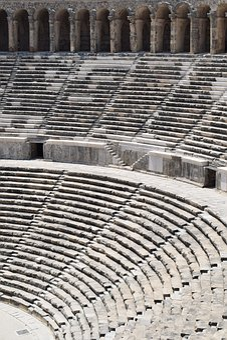 Aspendos, Theatre, Turkey, History, Ancient Times