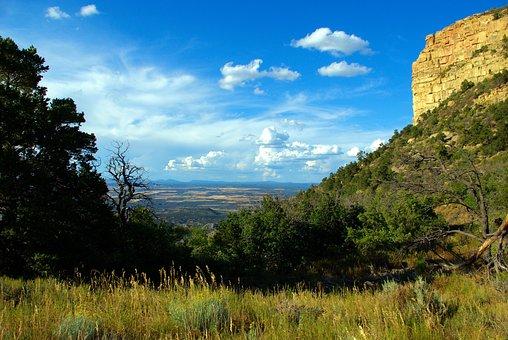 Mesa Verde View, Montezuma, Valley, Colorado, Landscape