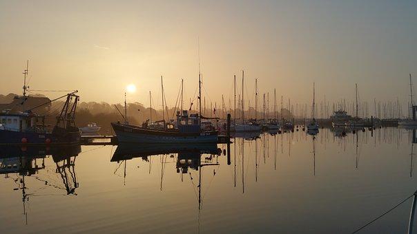 Sail, Port, Boat, Water, Sailing Boat, Ship, Yacht, Sea