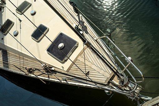 Shield, Boat, Yacht, Sailing Yacht, Sailing Boat, Water