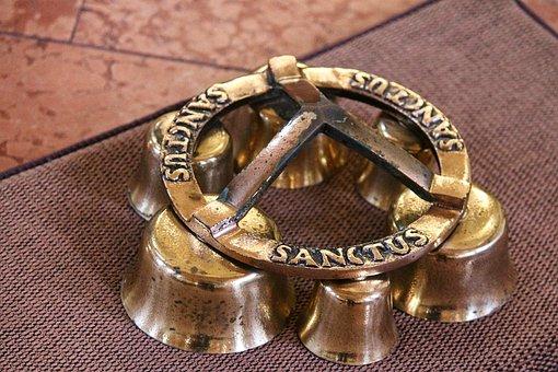Altar Clip, Measuring Bell, Altar Bell, Sanctus Bell