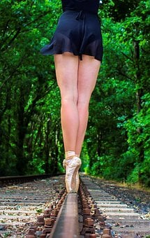 Woman, Ballet, Shoes, Ballet Shoes, Dance, Dancer, Body