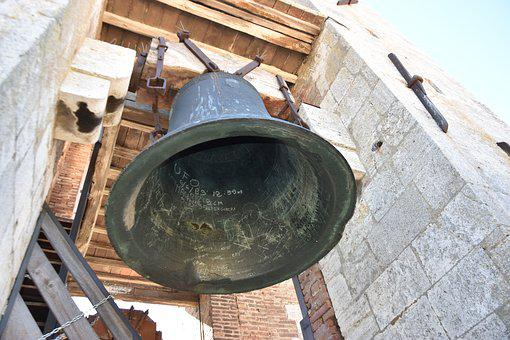 Bell, Tuscany, Bell Tower, Mediterranean