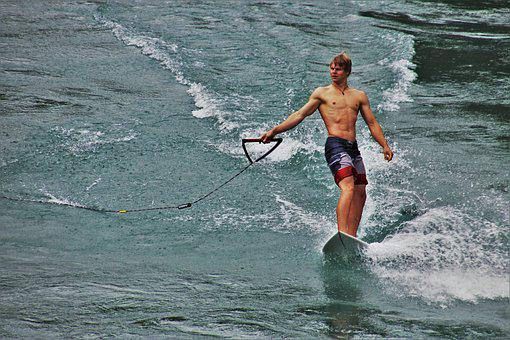 Bern, Surfing, River, Mountain River, Extreme Sport