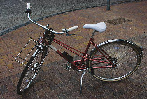 Bike, Drive, Wheel, Two, Road, Pavement, Bike Racks