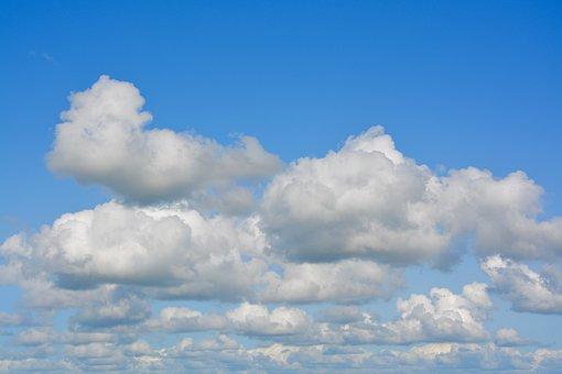 White Clouds, Cloud, Blue Sky, Clouds Cumulus, Cirrus