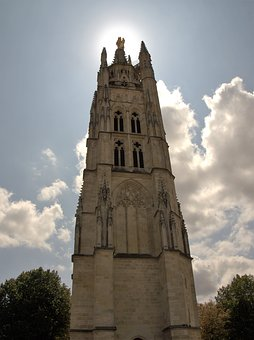 Bourdaux, Bell Tower, France, Church Roof, Brittany