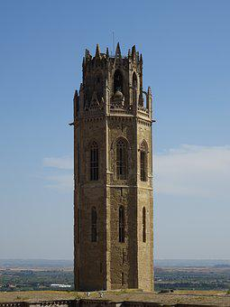 Cathedral, Catalonia, Building, Architecture, Lleida