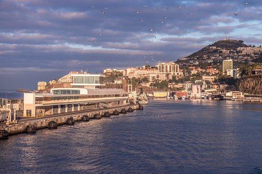 Costa, Mar, Architecture, Ocean, Cityscape, Marina