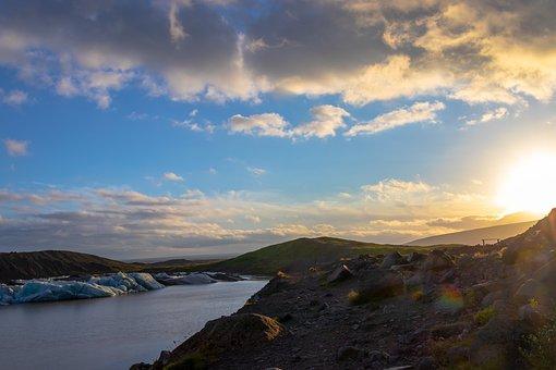 Iceland, Glacier, Quiet, Ice, Travel, Climbing, Cold
