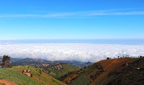 Landscape, Cloud, Nature, Sky, Mountains, Hills