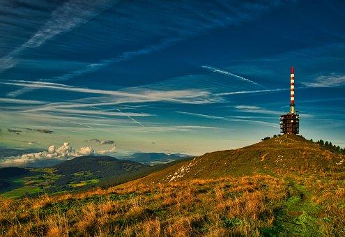 Landscape, Nature, Mountains, Alpine, Clouds, Sky