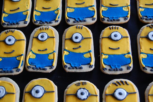 Cookies, Minions, Pastry, Sweet, Flavor, Bakery, Cookie