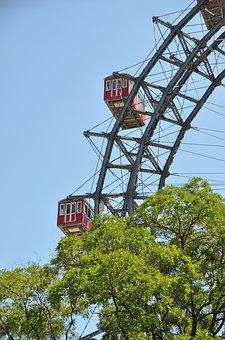 Giant Ferris Wheel, Vienna, Amusement Park