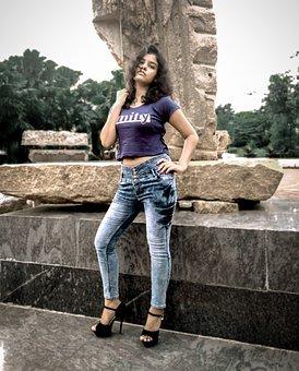 Model, Indian, Fashion, Girl, Female, Asian, Gorgeous