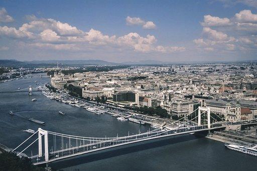 Budapest, Panorama, River, Hungary, Bridge, Danube