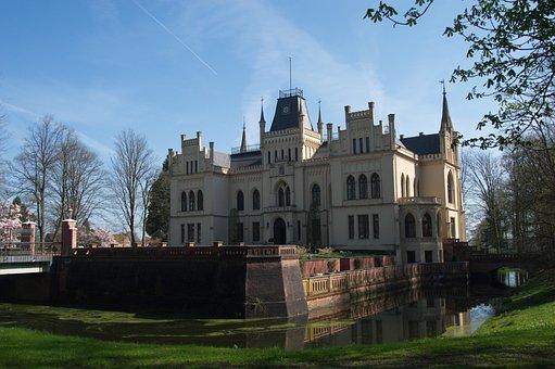 Castle, Park, Landscape