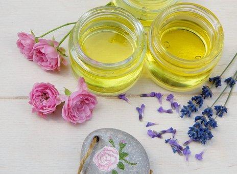 Oil, Essential Oils, Lavender, Rose, Wellness, Health