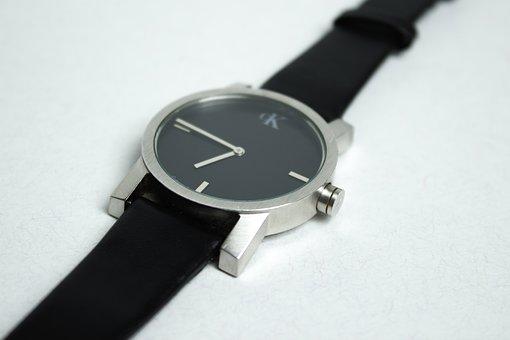 Clock, Wrist Watch, Macro, Time, Minutes, Hours