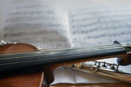 Violin, Flute, Music, Classic, Musical Instrument