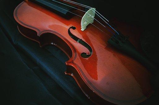 Violin, Music, Musical, Design, Musician, Instrument