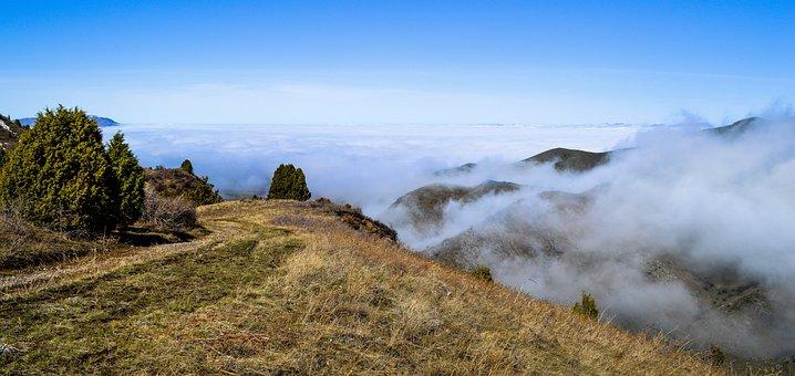 Nature, Landscape, Sky, Atmosphere, Haze, Clouds