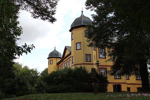 Castle, Park, Trees, Historically, Building, Nature