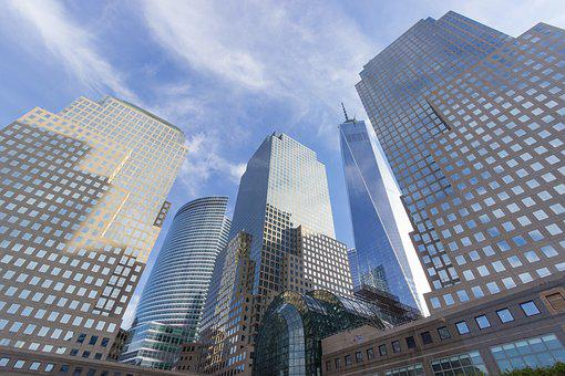 Skyline, New York, One World Trade Center, City