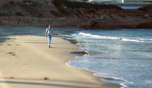 Beach, Sea, Portrait, People, Ocean, Sand, Body, Summer